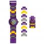 LEGO Batgirl Kinder-Armbanduhr mit Minifigur. Bild 1