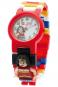 LEGO Wonder Woman Kinder-Armbanduhr mit Minifigur. Bild 1