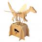 Leonardo da Vinci Fliegender Drache. Holzkonstruktion. Bild 1