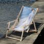 Liegestuhl mit Armlehnen Joaquín Sorolla »Spaziergang entlang der Küste«. Bild 1