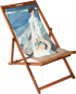 Liegestuhl »Spaziergang entlang der Küste« nach Sorolla. Bild 1