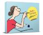 Loriot Haftnotizen - Für die Dame. Notizzettel-Box. Bild 1