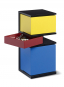 Mini-Container »De Stijl« nach Piet Mondrian. Bild 1
