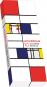 Mondrian. 10 Buntstifte. Bild 1