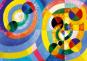 Puzzle Robert Delaunay »Kreisformen«. Bild 1