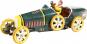 Rennwagen »Bugatti« aus Blech, grün. Bild 1