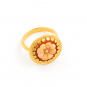 Ring Camée »Utopia« aus 750er Recycling-Gold. Bild 1