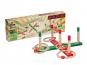 Ringspiel Holz 12-teilig, rot/grün. Bild 1