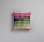 Røros Tweed Kissen »Åsmund Gradient rosa/grün«. Bild 1