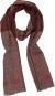 Roter Schal aus 100 % Wolle »Come«. Bild 1