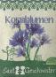 Saatgut Kornblumen (Centaurea cyanus). Bild 1
