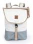Segeltuchrucksack »Landgang Mini«, weiß-grau. Bild 1