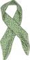 Seidentuch nach Anni Albers »Design E«, grün. Bild 1