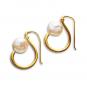 Süßwasserperlen Ohrringe. Bild 1