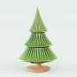 Tannenbaum aus Keramik, grün. Bild 1