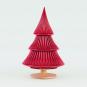 Tannenbaum Keramik, rot. Bild 1
