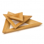 Topfuntersetzer aus Holz, 3-tlg. Bild 1