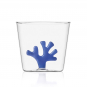 Trinkglas »Koralle«, blau. Bild 1