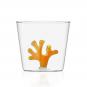Trinkglas »Koralle«, orange. Bild 1