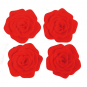 Untersetzer im Rosen-Design. 4 Stück. Bild 1