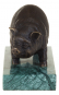 Bronzefigur Rembrandt Bugatti »Hausschwein«. Bild 2
