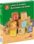 Buchstaben, Zahlen und Motive. Kleine Holzwürfel zum Spielen und Lernen. Bild 2