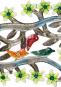 Buntes Ornament aus Haiti »Vögel und Blätter«. Bild 2