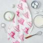 Geschirrhandtuch »Cupcakes und Kuchen«. Bild 2