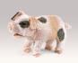 Grunzendes Schweinchen Handpuppe. Bild 2