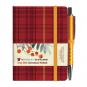 Kleines Notizbuch Tartan »Rowanberry«. Bild 2