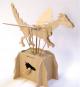Leonardo da Vinci Fliegender Drache. Holzkonstruktion. Bild 2