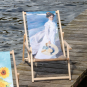 Liegestuhl mit Armlehnen Joaquín Sorolla »Spaziergang entlang der Küste«. Bild 2