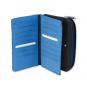 Moleskine Paynes Doppel-Geldbörse, grau und blau. Bild 2