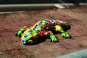 Mosaik Salamander. Bild 2