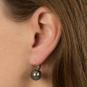 Ohrringe aus Murano Perle, blau. Bild 2