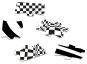 Optische Illusionen Black & White Puzzle No. 1. 80 Teile. Bild 2