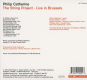 Philip Catherine. The String Project: Live In Brussels. CD. Bild 2
