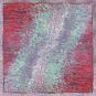 Quadratisches Seidentuch »Lily Jeans Rouge«. Bild 2