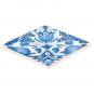 Replik Delfter Fliese »Eine Tulpe«, blau/weiß. Bild 2