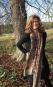 Schal aus Seide »Klimt«, taupe. Bild 2