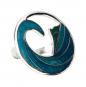 Schal Ring Katsushika Hokusai »Die Welle«, türkis. Bild 2