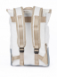 Segeltuchrucksack »Landgang Mini«, weiß-grau. Bild 2