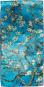 Seidenschal Vincent van Gogh »Mandelbaum«, blau. Bild 2