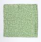Seidentuch nach Anni Albers »Design E«, grün. Bild 2