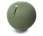 Sitzball aus Stoff, dschungelgrün. Bild 2