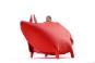 Sparschwein, rot. Bild 2