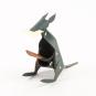 Stifthalter Känguru, grau. Bild 2