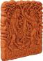 Terracotta Wandfliese. Mittelalterlicher Garten. Bild 2