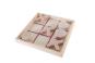 Tic Tac Toe aus Holz. Bild 2