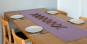 Tischläufer aus Leinen, flieder. Bild 2